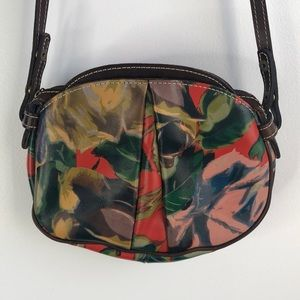 Patricia Nash Winter Bloom crossbody bag
